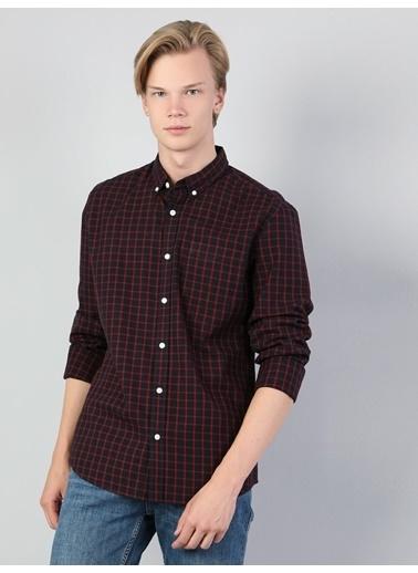 Colin's Colin'S Shirt Neck Uzun Kol Slim Fit Erkek Gömlek Lacivert